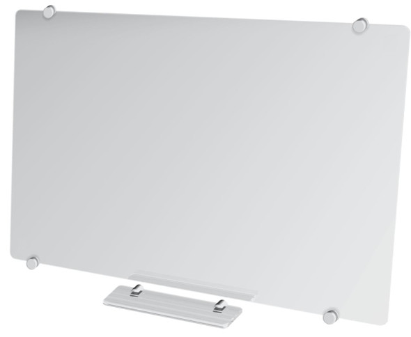 Glass Whiteboard Non-Magnetic 1200x900mm