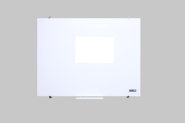 Glass Whiteboard Non-Magnetic 1500x1200mm
