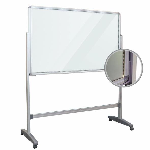 Glass LED Light Board 15001000mm including legs