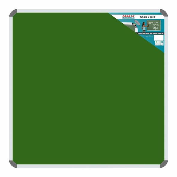 Chalk Board Non-Magnetic Aluminium Frame - 900900mm