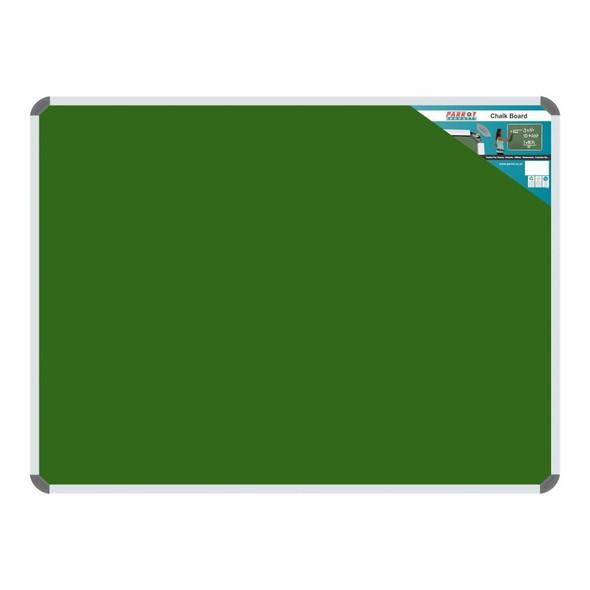 Chalk Board Non-Magnetic Aluminium Frame - 1200900mm