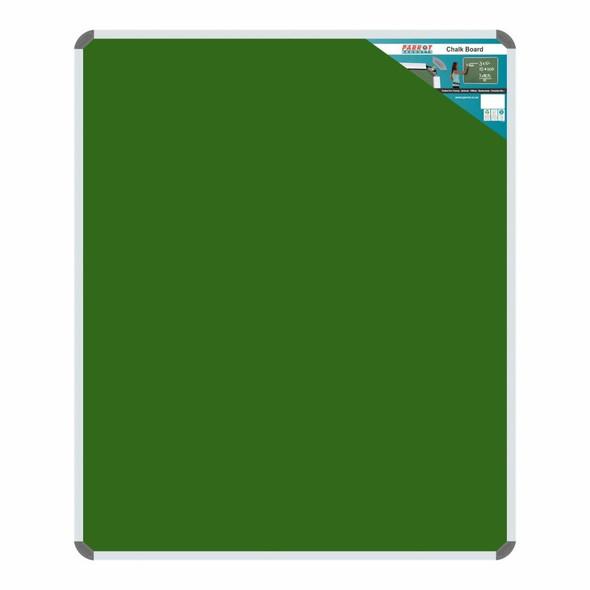 Chalk Board Non-Magnetic Aluminium Frame - 12001000mm