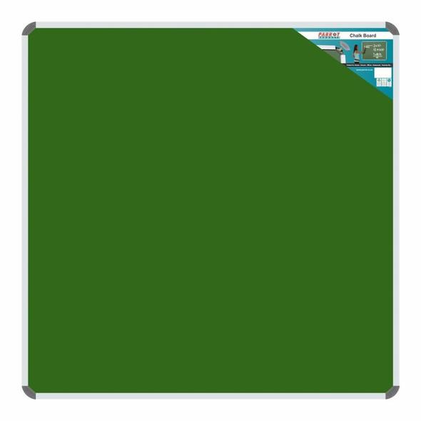 Chalk Board Non-Magnetic Aluminium Frame - 12001200mm