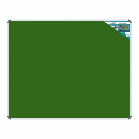 Chalk Board Non-Magnetic Aluminium Frame - 15001200mm