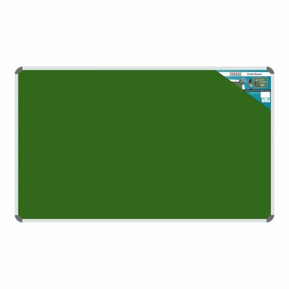 Chalk Board Non-Magnetic Aluminium Frame - 1500900mm