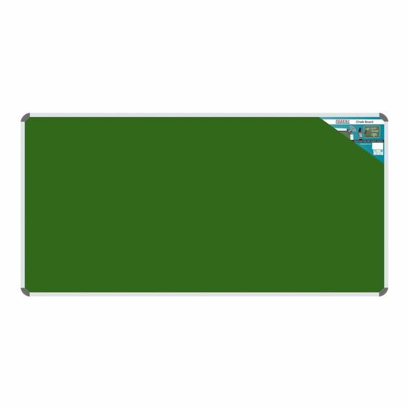 Chalk Board Non-Magnetic Aluminium Frame - 1800900mm
