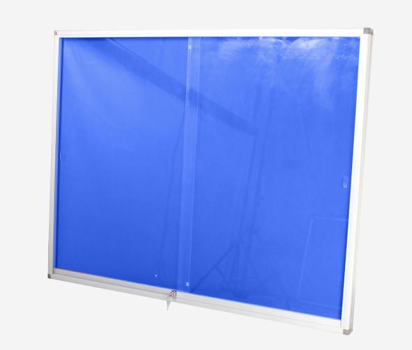 Pinning Display Case 1200900mm - Royal Blue