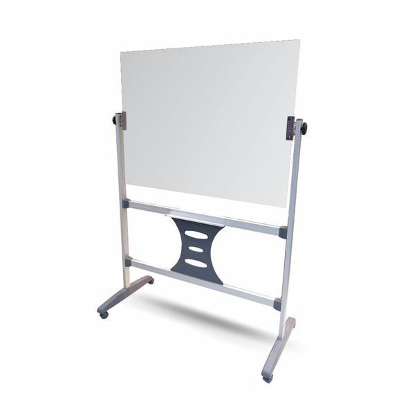 Magnetic Revolving Glass Board 1200900mm and 1200mm Leg Set