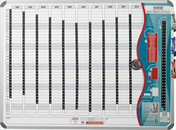 Magnetic Year Planner 1200900mm