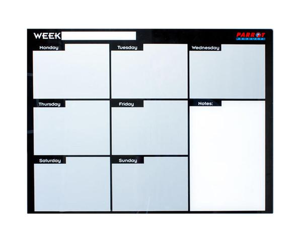 Cast Acrylic Weekly Planner Cast Acrylic - 600 x 450mm