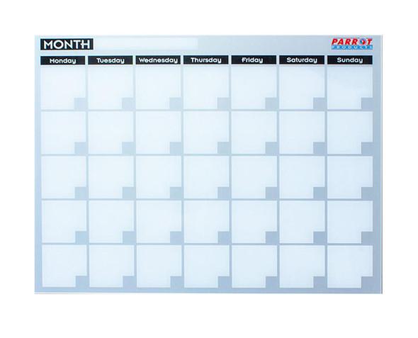 Cast Acrylic Monthly Planner Cast Acrylic - 600 x 450mm