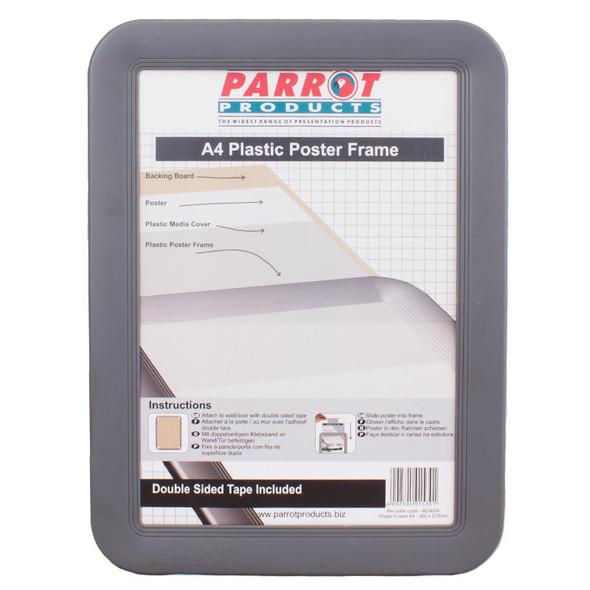 Poster Frame A4 - Slide In - Plastic Frame