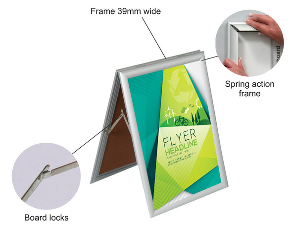A-Frame Poster Frame Sandwich A1