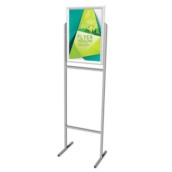 Poster Frame Stand A2 - Double Sided - Castors