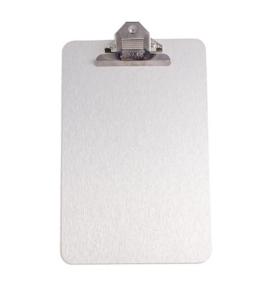 Clipboard Brushed Aluminium ACP A4 - 355230mm