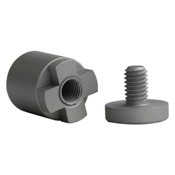 Stand-off 4 Way 25mm - Aluminium