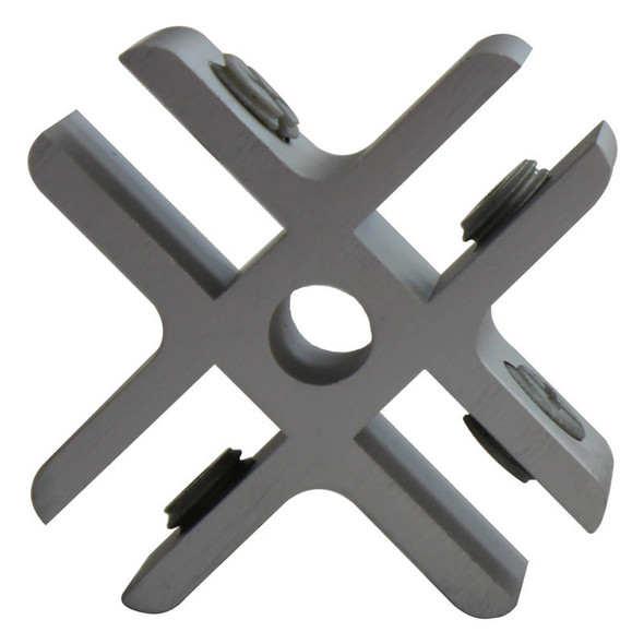 Four Way Grip for Glass Cube Display Stand Pack of 2