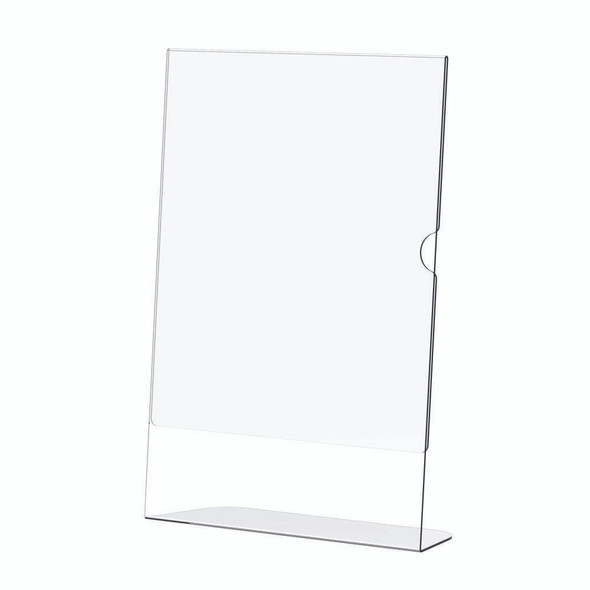 Acrylic Menu Holder - Single Sided - A4 Portrait - Box 5