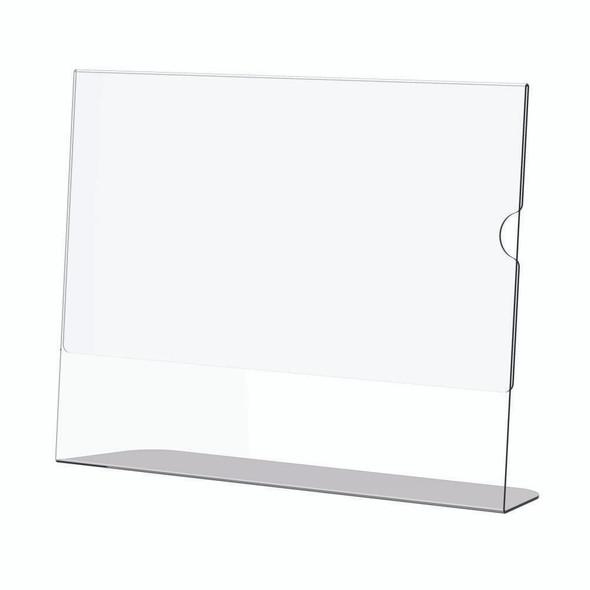 Acrylic Menu Holder - Single Sided - A5 Landscape - Box 5