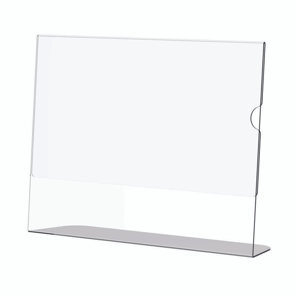 Acrylic Menu Holder - Single Sided - A6 Landscape - Box 5