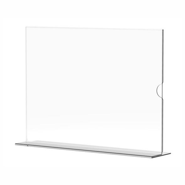 Menu Holder Acrylic Double Sided - A4 Landscape - Box 5