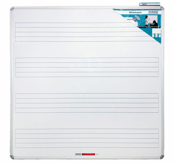 Music Board 12301230mm Magnetic White
