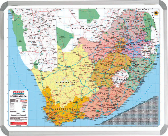 South African AA Map 1200900mm