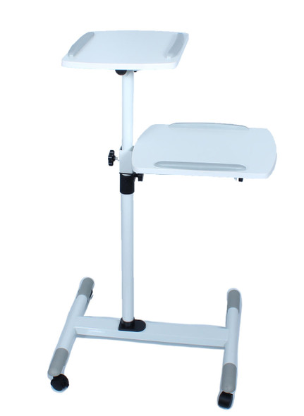 Data Projector and Laptop Trolley 1000880620mm - Steel