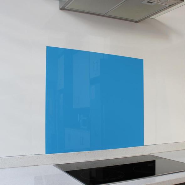 Blue Hob Splashback 598 x 650 x 6mm