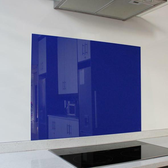 Royal Blue Hob Splashback 898 x 700 x 6mm