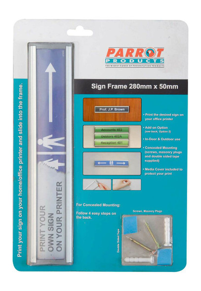 Sign Frame 50280mm - Retail Pack