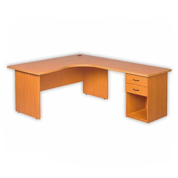 Cluster Desk Panel Legs with Pedestal