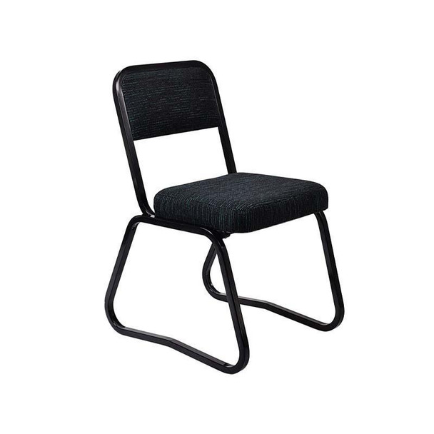 C1S Rick Stacker Chair with Skid Base