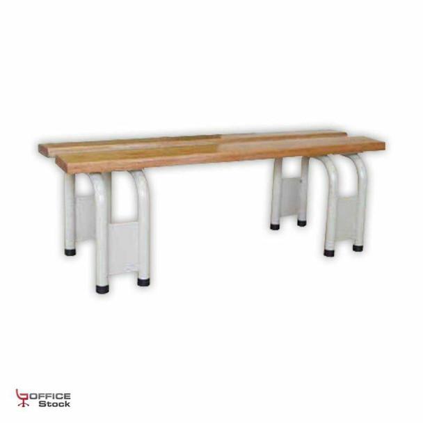 Locker Bench Freestanding - Meranti Slats
