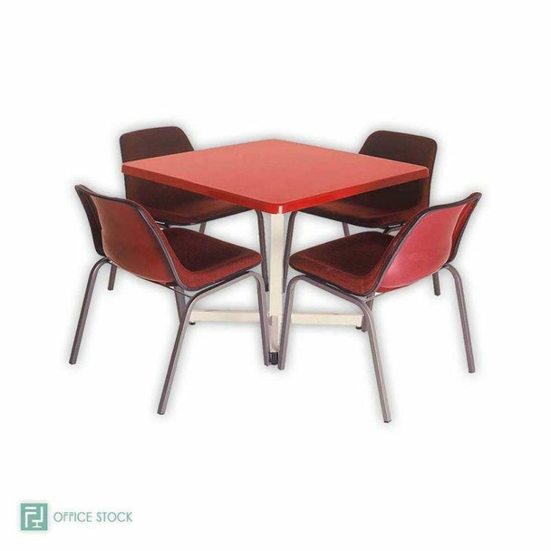 Canteen Square Fibreglass Table