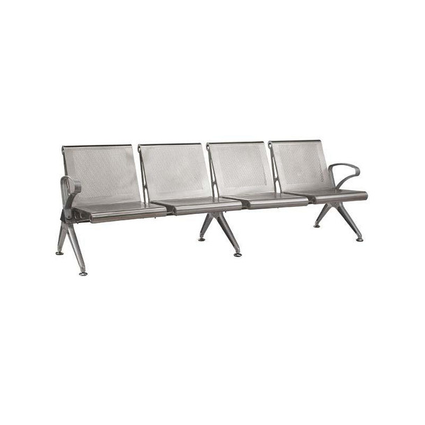 4-Seater Die Cast Airport Bench