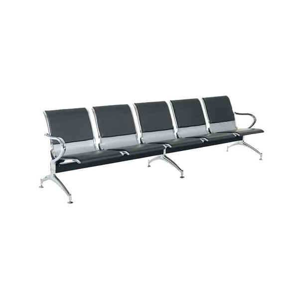 5-Seater Heavy Duty Airport Bench