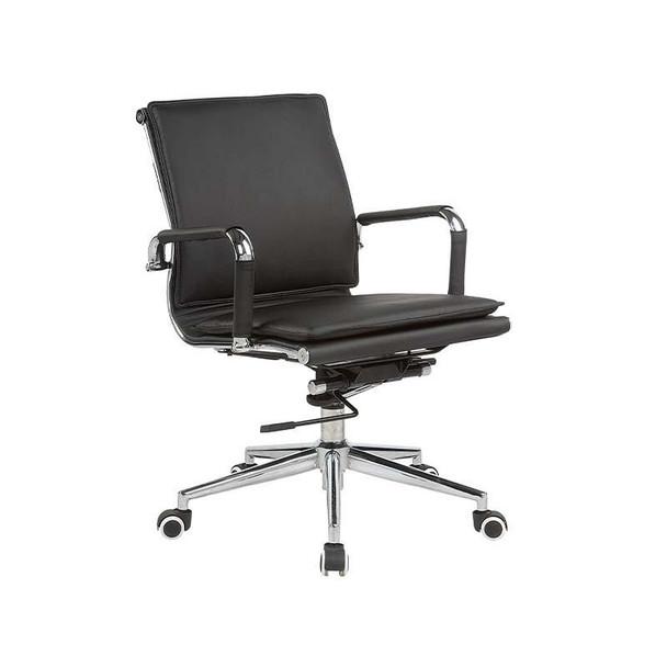 Classic Eames Flat Cushion Medium-back Chair