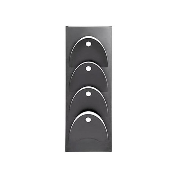 Magazine Steel Wall Mounted D- Line Holder