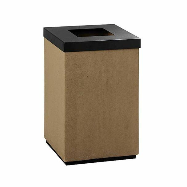 Eco Fibre Square Recycle Litter Bin