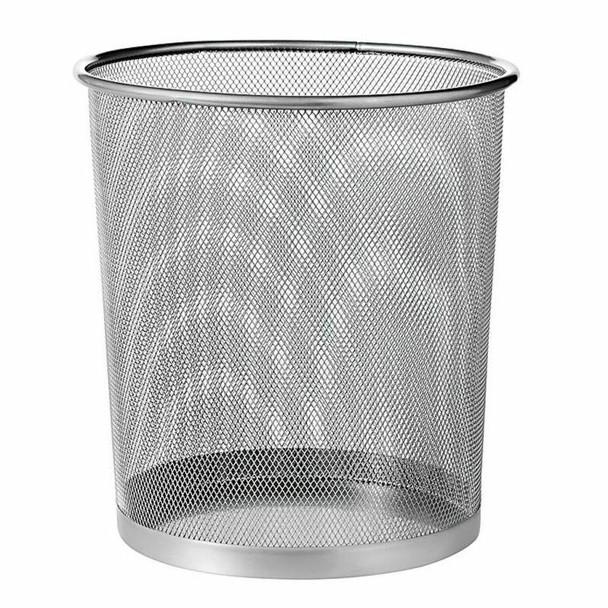 Wire Mesh Round Large Waste Paper Bin