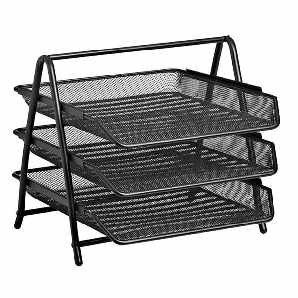Wire Mesh Letter Tray 3 Tier