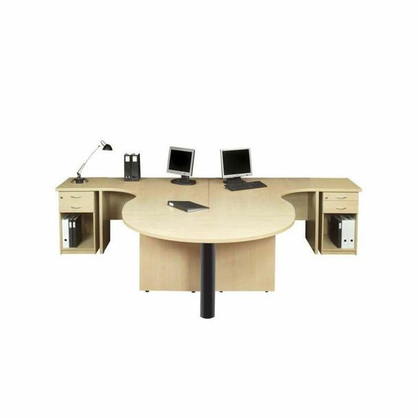 Value Wave Top 2 way Cluster Desk