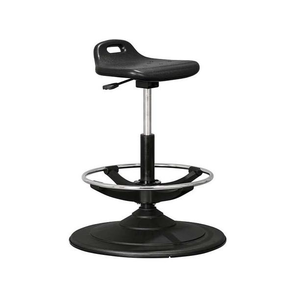 Sit-Stand PU Typist Chair