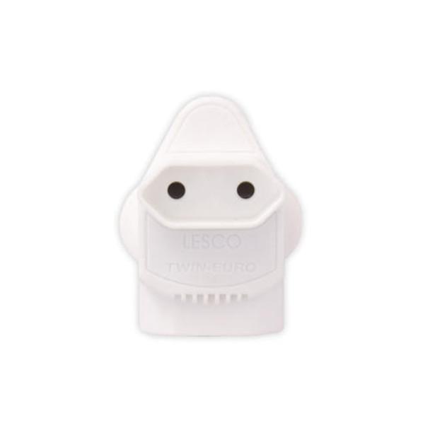 Plug - RSA Twin Euro Adaptor