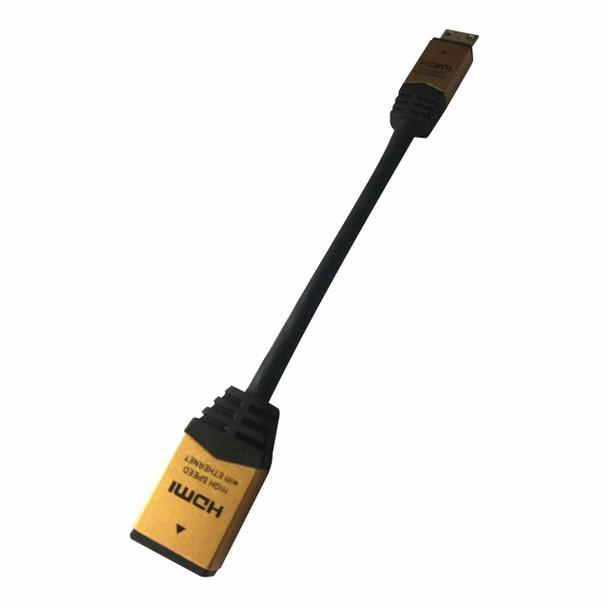 Female HDMI To Mini Male HDMI Adapter
