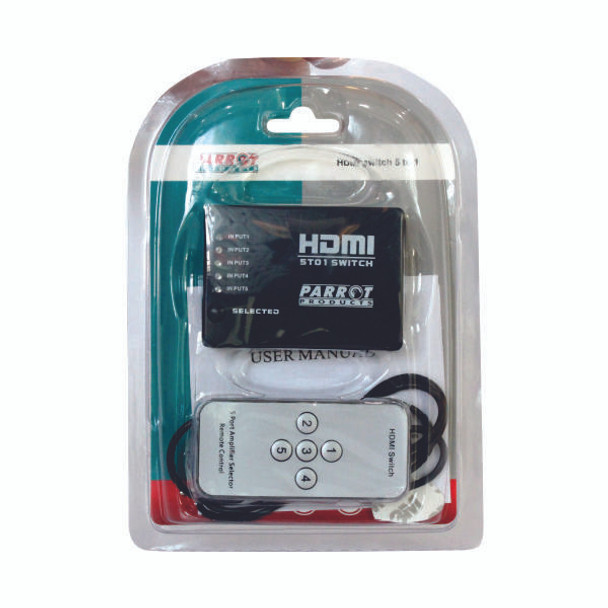 5-Port HDMI Switch