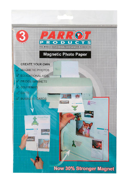 Magnetic Flexible Photo Paper A4 3 Sheets