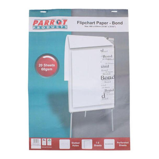 Flipchart Paper Bond 50 Sheets 860610mm