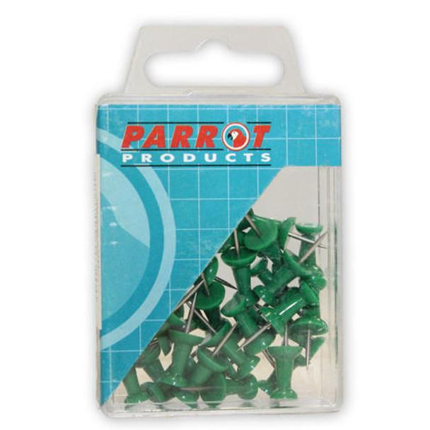 Push Pins Boxed 30 - Green